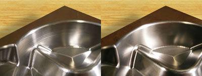 3D rafineeritud töörada tagab oluliselt parema viimistluse.