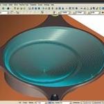 Prognoositud spiraalviimistlus tagab sujuva lõike pidevalt materjaliga kontaktis olles.