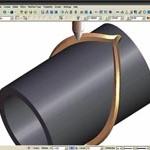 4-teljeline silindrilise tööriista liikumise programmeerimine.