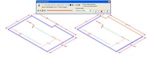 Mastercam'i muutuste tuvastaja identifitseerib CAD failile tehtud muutused.